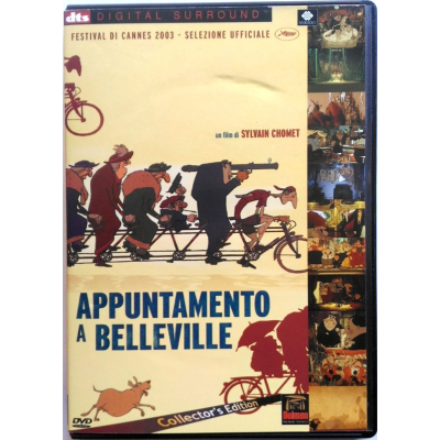 Dvd Appuntamento a Belleville - Collector's edition 2 dischi