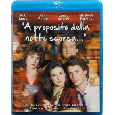 Blu-ray A proposito della notte scorsa