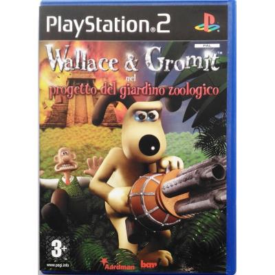 Gioco PS2 Wallace & Gromit nel progetto del giardino zoologico