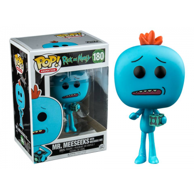 Rick And Morty Mr. Meeseeks with Box Pop! Funko