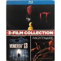 Blu-ray 3-Film collection It (2017) + Venerdì 13 (1980) + Nightmare (2010) Usato