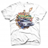 T-shirt Back To The Future Part II vintage Delorean Time machine