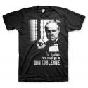 T-shirt Il Padrino For Justice go to Don Corleone The Godfather maglia Uomo