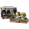Star Wars Trash Compactor Escape Leia & Luke Skywalker Pop! Funko