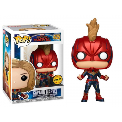 Captain Marvel Pop! Funko chase