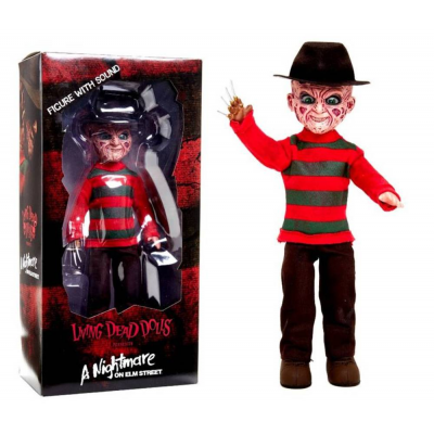 Living Dead Dolls Nightmare talking Freddy Mezco