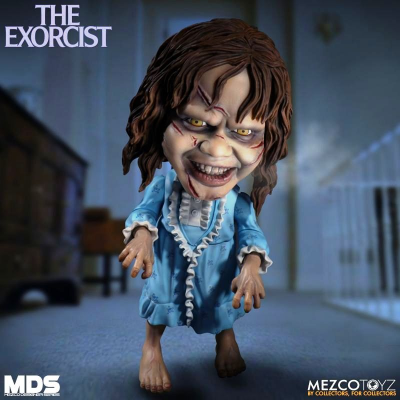 The Exorcist Regan Stylized roto figure MDS Mezco