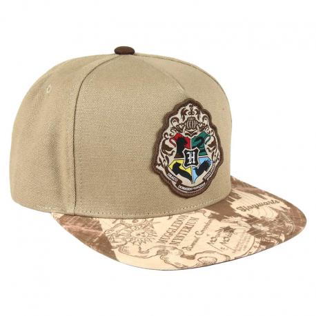 Cappello Harry Potter Hogwarts logo maraurder map visor Snapback Cap