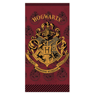 Telo mare asciugamano Harry Potter Hogwarts cotton beach towel 70x140cm