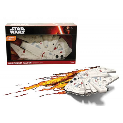 Lampada 3D Light LED Star Wars Millennium Falcon