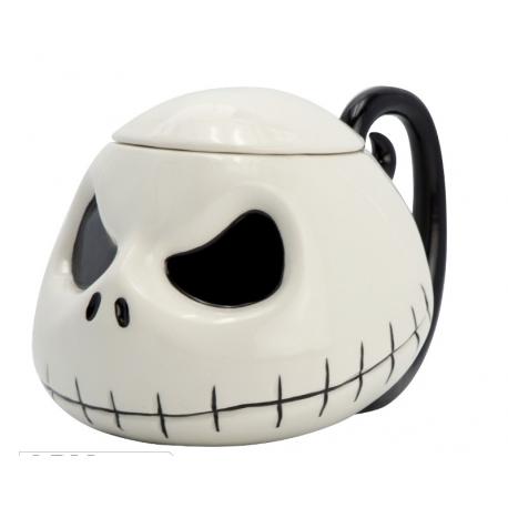 Tazza Nightmare Before Christmas Jack Skellington head 3D Mug