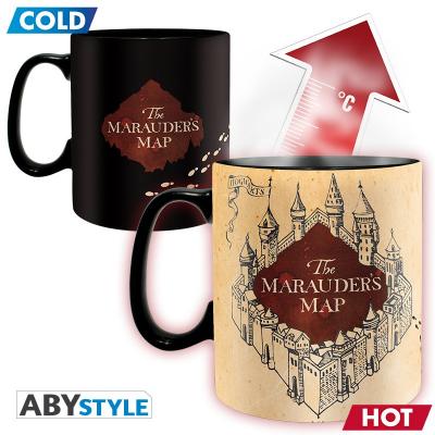 Harry Potter Marauder map Heat Change Mug