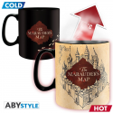 Harry Potter Marauder map Heat Change Mug ABYstyle