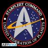 Cappello Star Trek Starfleet Command Black & Grey Cap