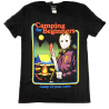T-shirt Freddy vs. Jason Friday the 13th Camping for Beginners man