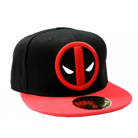 Deadpool Logo snapback Cap Marvel comics Cotton division
