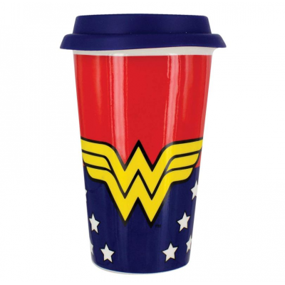 Tazza da viaggio Wonder Woman DC Comics Travel Mug