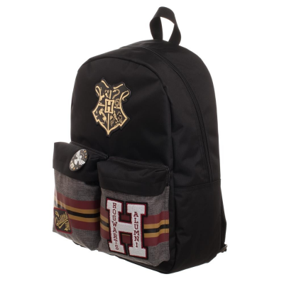 Zaino Harry Potter Hogwarts Crest Alumni patches Backpack Bioworld