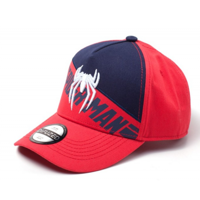 Cappello Marvel Spider-Man logo PS4 Curved Bill Cap