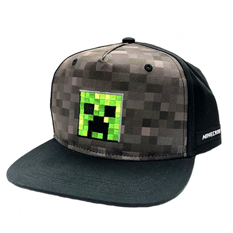 Cappello Minecraft - Creeper Inside Youth Snapback Cap Bioworld