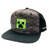 Cappello Minecraft - Creeper Inside Youth Snapback Cap Bioworld