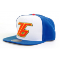 Cappello Overwatch Soldier 76 Embroidered Logo Snapback Cap Hat Bioworld