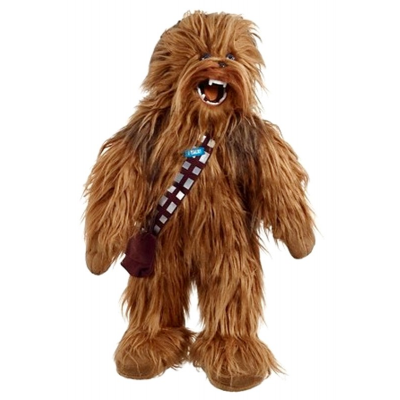 Peluche Star Wars Mega Poseable roaring Chewbacca plush