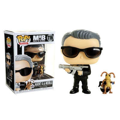MIB Men In Black Agent K & Neeble Pop! Funko