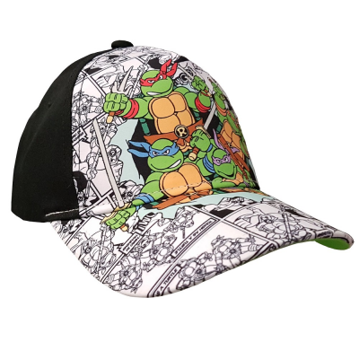 Cappello Teenage Mutant Tartarughe Ninja Turtles All Over Kids snapback Cap