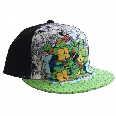 Cappello Teenage Mutant Tartarughe Ninja Turtles Group Kids snapback Cap