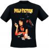 T-shirt Pulp Fiction Poster Mia Smoking Stance men
