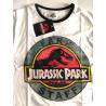 T-shirt Jurassic Park - Staff logo ringer