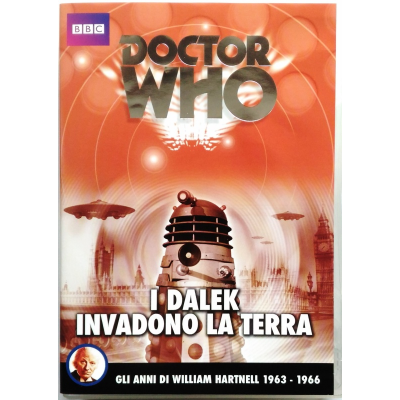 Dvd Doctor Who - I Dalek invadono la terra