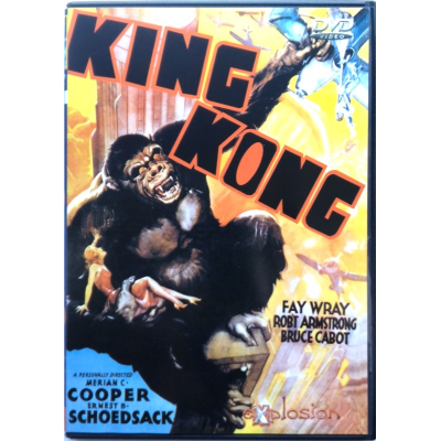 Dvd King Kong (1933) - 1^ Edizione speciale Italiana Explosion Video