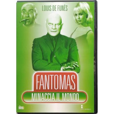 Dvd Fantomas minaccia il mondo