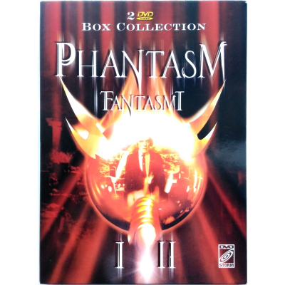 Dvd Phantasm - Fantasmi 1 e 2 Box Collection