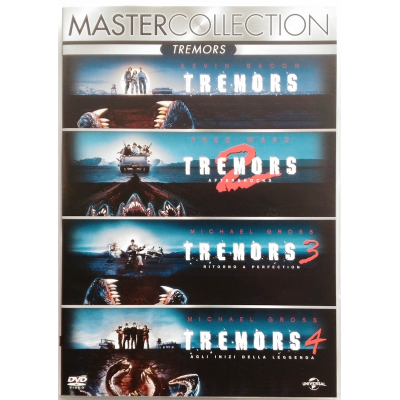 Dvd Tremors - Master collection