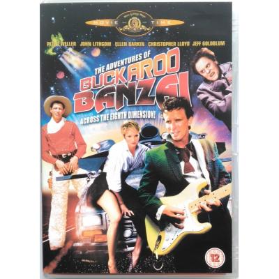 Dvd Adventures of Buckaroo Banzai across the Eight Dimension