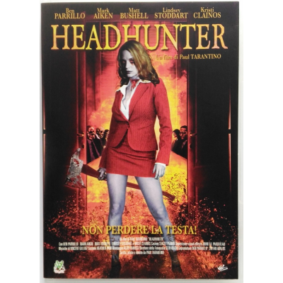 Dvd Headhunter di Paul Tarantino 2005