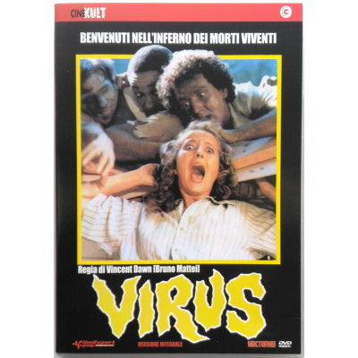 Dvd Virus - versione integrale CineKult di Bruno Mattei 1980