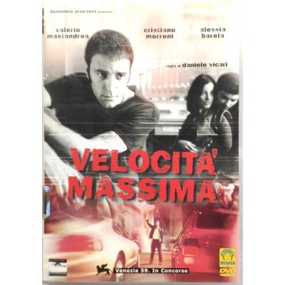 Dvd Velocità massima di Daniele Vicari 2002