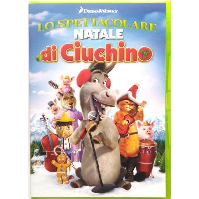 Dvd Lo spettacolare Natale di Ciuchino