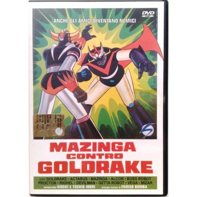 Dvd Mazinga contro Goldrake