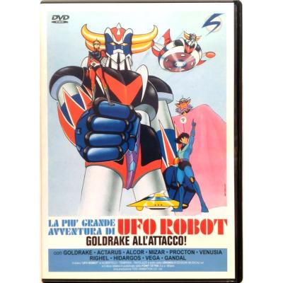 Dvd La più grande avventura di Ufo Robot: Goldrake all'attacco