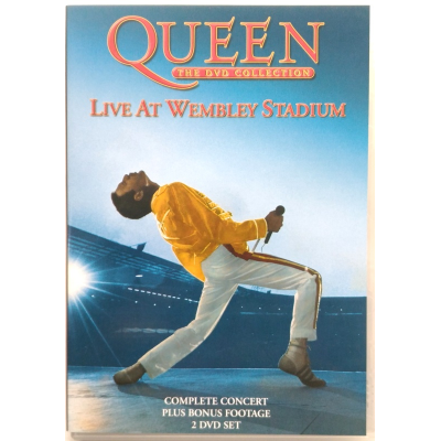 Dvd Queen - Live at Wembley Stadium - collection 2 dischi