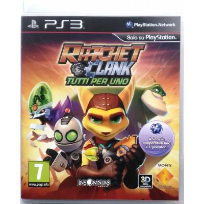 Gioco PS3 Ratchet & Clank - Tutti per uno