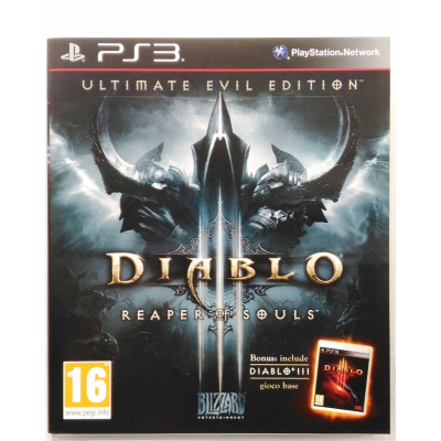 Gioco PS3 Diablo III 3 - Reaper of Souls - Ultimate Evil Edition