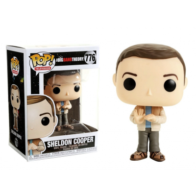 The Big Bang Theory S2 Sheldon Cooper Pop! Funko television Vinyl figure n° 776