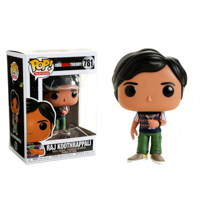 The Big Bang Theory S2 Raj Koothrappali with Martini Pop! Funko