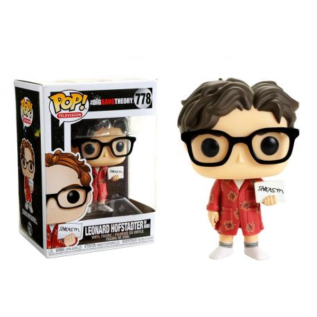 The Big Bang Theory S2 Leonard Hofstadter in robe Pop! Funko